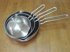 片手鍋 ステンレス ジオの写真です!
