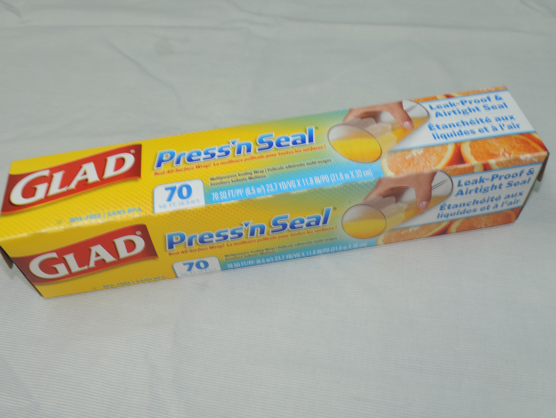 プレス&シール マジックラップ GLADの写真です!