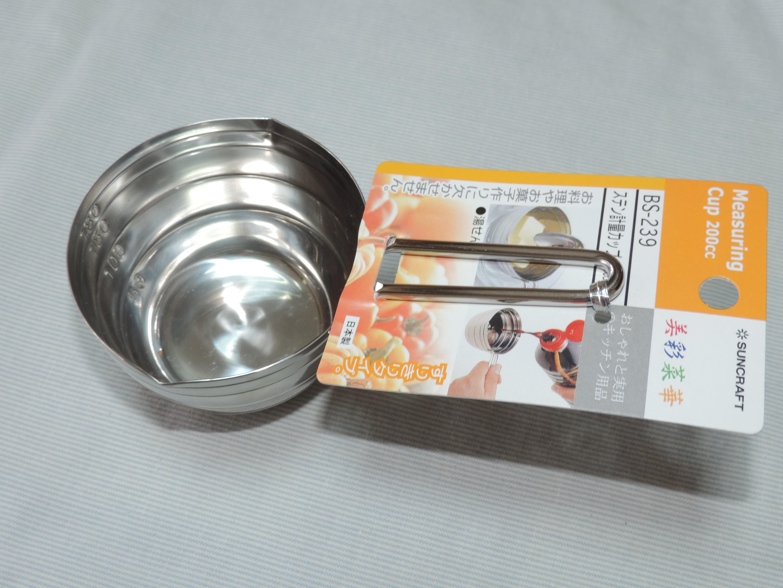 株式会社サンクラフトから販売されている「ステン計量カップ 美彩菜華」の写真です!